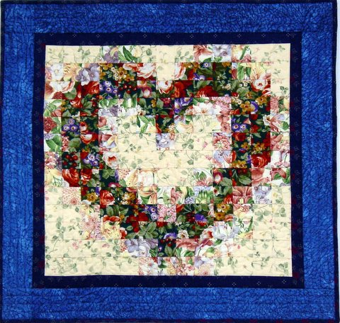 Free Quilt Patterns With Hearts : QUILT PATTERNS APPLIQUE HEARTS APPLIQ PATTERNS
