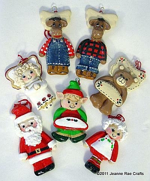 Dough Ornaments