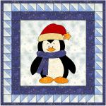 Little Penguin Mini Quilt