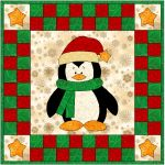 My Stars Penguin Quilt