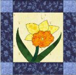 January Block - Daffodil