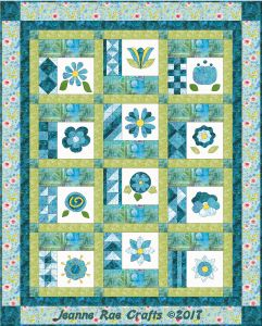 Jeanne's Quilting Block of the Month