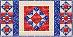 Star of Hope table runner