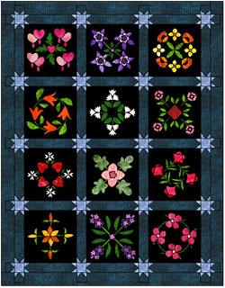 Twilight Garden Quilt