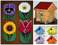 Birdhouses by Wildflower Wood