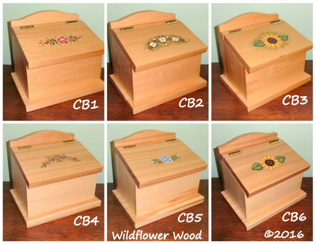 Classic Boxes from Wildflower Wood