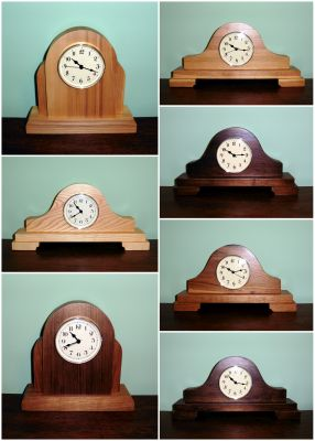 Clocks from Wildflower Wood