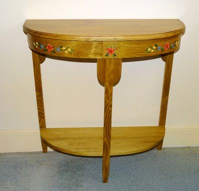 Half-Round Table from Wildflower Wood