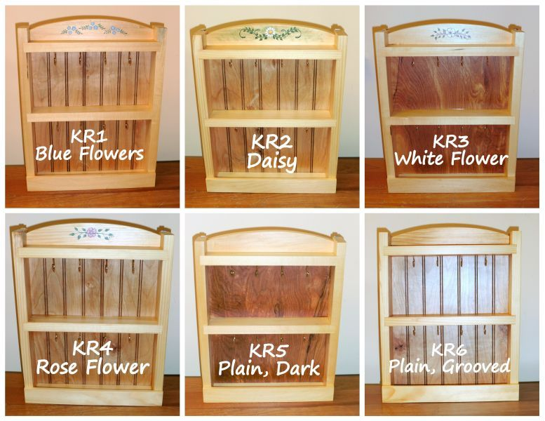 Key Racks from Wildflower Wood