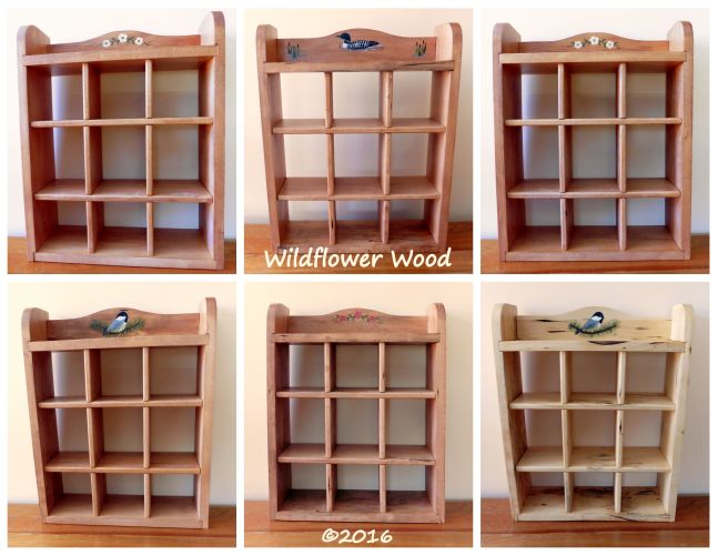 Medium Shadow Box from Wildflower Wood