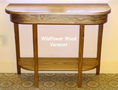 Mid-size Sofa Table from Wildflower Wood