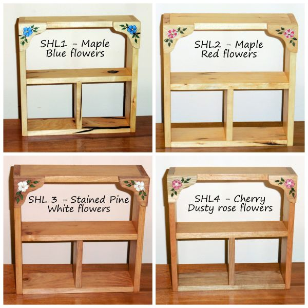 Little Square Shadow Boxes from Wildflower Wood