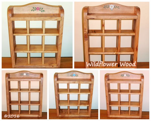 Small Wall Shelf from Wildflower Wood