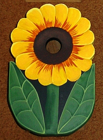 Sunflower Birdhouse from Wildflower Wood