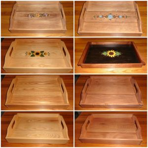 Trays from Wildflower Wood