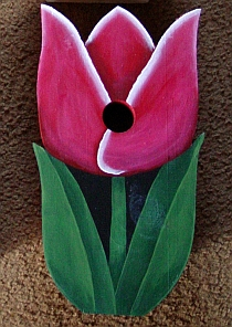 Tulip Birdhouse from Wildflower Wood